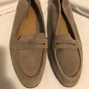 Lucky brand suede loafer